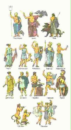 Древняя греция боги смотрите также