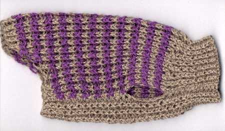 Вязаные свитера для собаки.