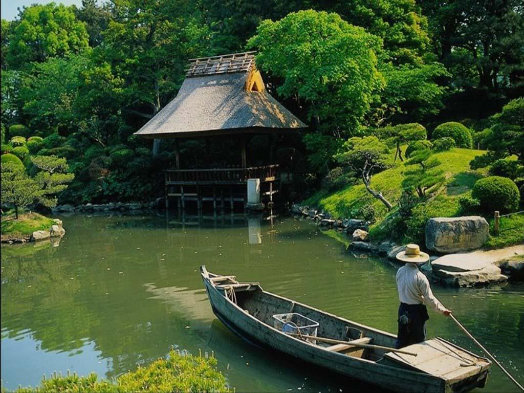 азиатская лодка восточная
