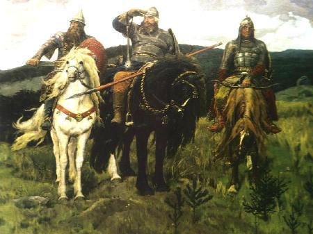 Богатыри (Три богатыря). 1898
