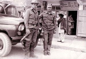 Воины десантно-штурмовой бригады, дислоцировавшейся в Гардезе