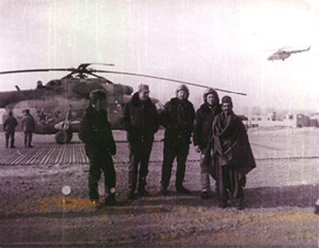 Ми-8МТ в небе и на земле