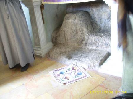 Камень на котором сидел Иисус