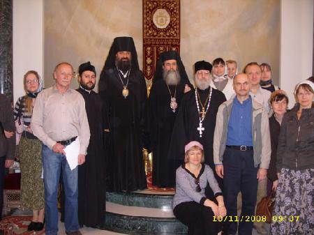 С Патриархом Иерусалимским на память