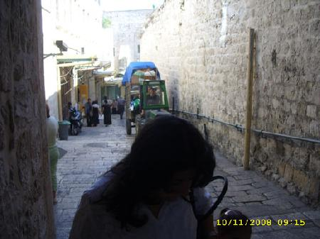 Узкие улочки Крестного пути