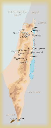 Карта тех мест, где мы побывали