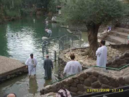 В водах Иордана