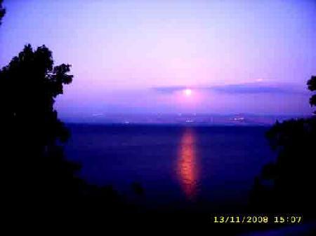 Закат на Галилейском море