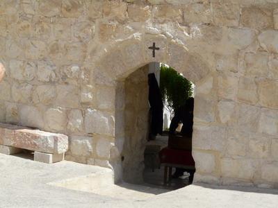 Вход в Лавру Саввы Освященного
