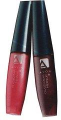 блески для губ с эффектом металик вид на губах