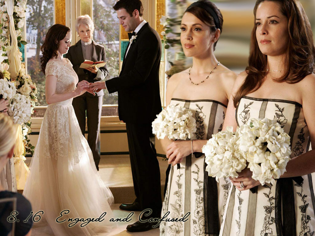 Серии свадьба пайпер лео