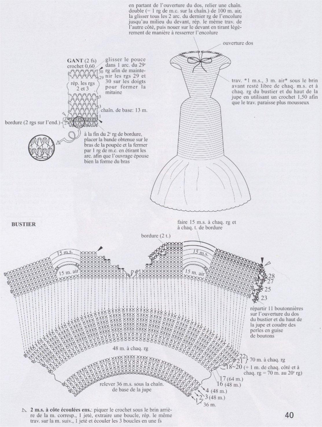 вязание куклам барби схемы