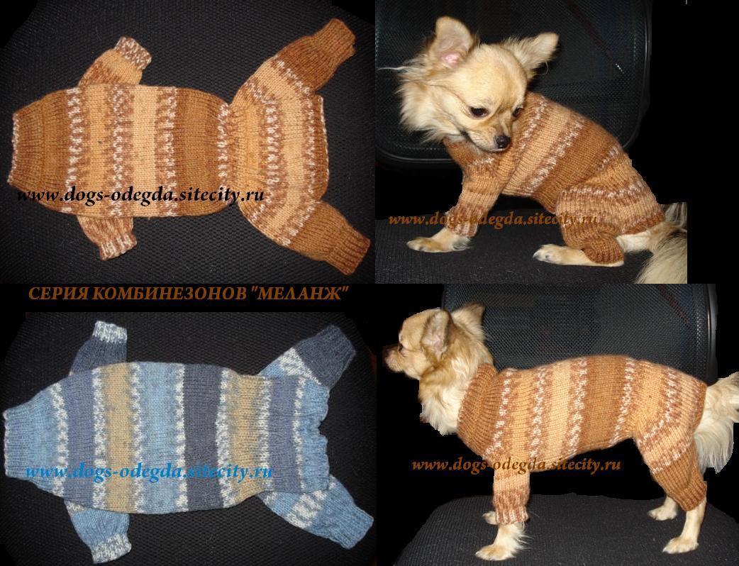 Комбинезон для собаки своими руками вязание крючком