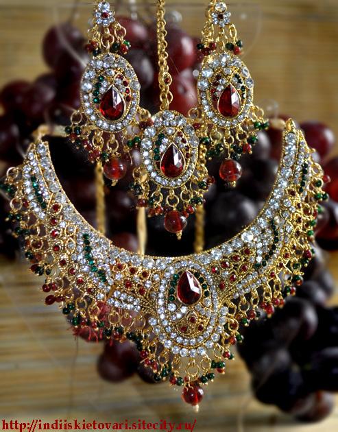 Индийские украшения для индийского танца и танца живота