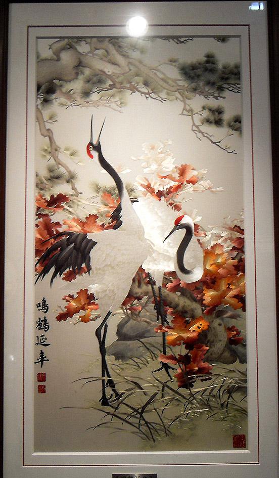 Вышивка картин из китая