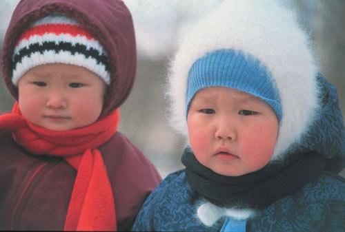 фото детей якутия