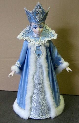 Снежная королева своими руками