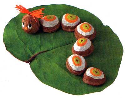 Поделки из манжурского ореха