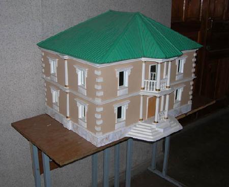 Как сделать макет дома из картона 3