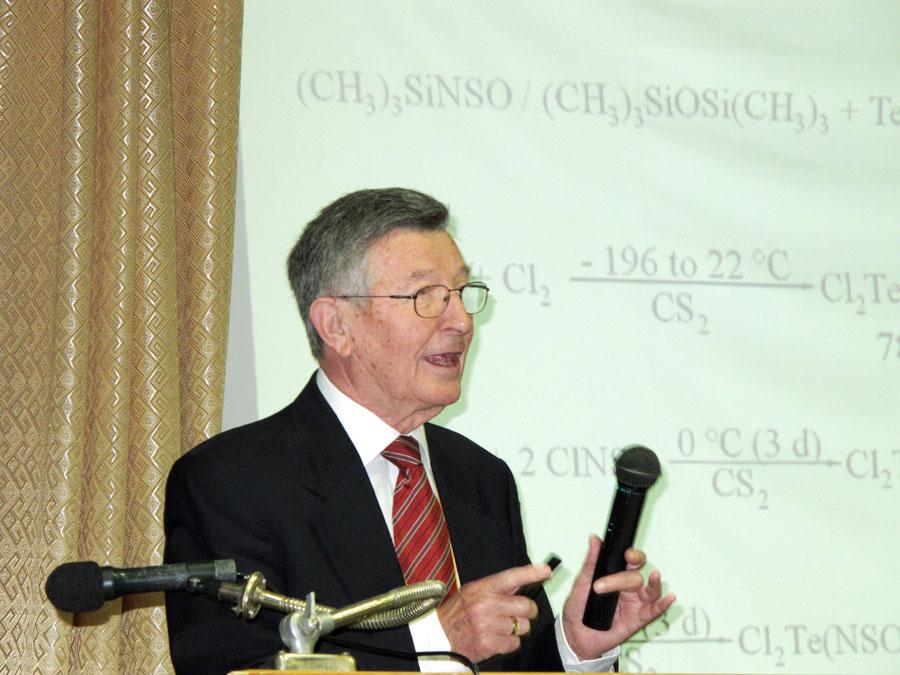 Международное признание Ю.А.Буслаева