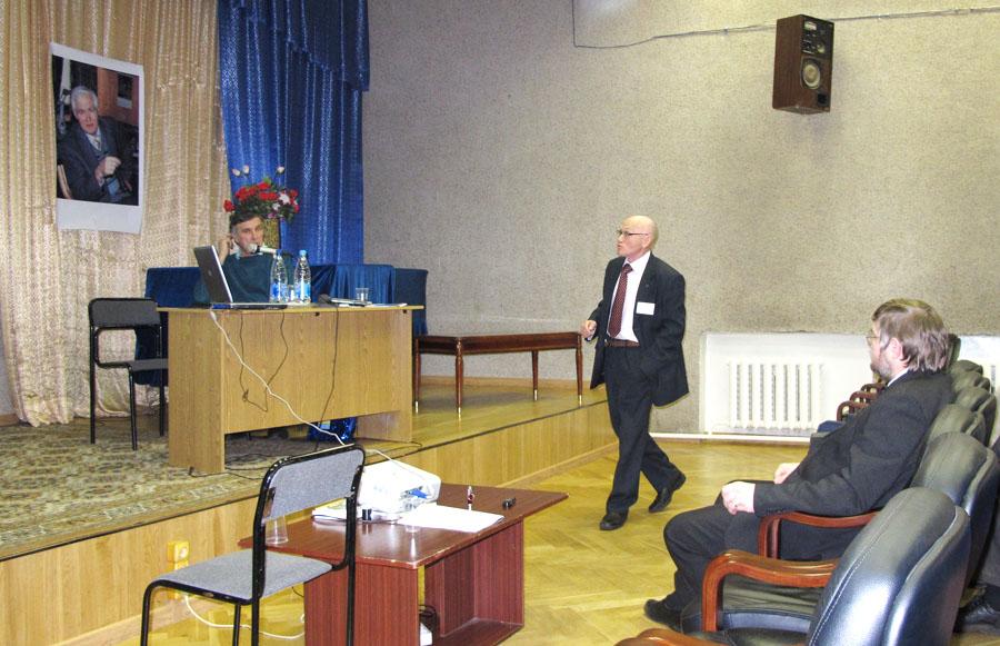 Профессор Игорь Николаевич Флеров, Красноярск