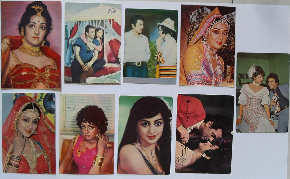 Индийские открытки с актерами 72