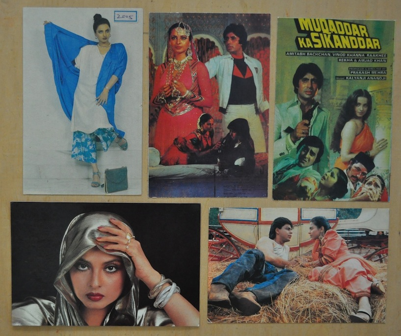 Индийские открытки с актерами 16