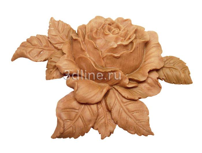 Деревянные розы своими руками