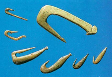 орудие древних людей для ловли рыбы