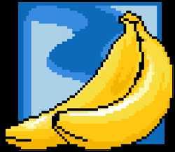 Вышивка крестом бананы