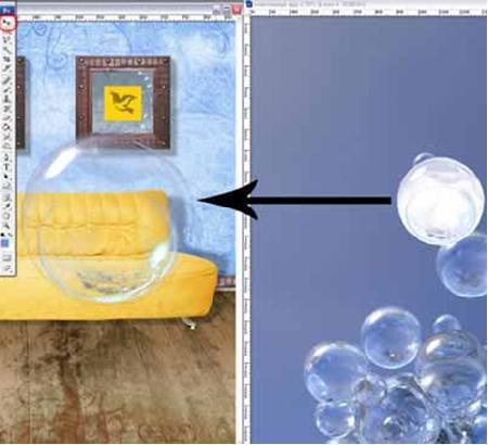 Как сделать прозрачный предмет